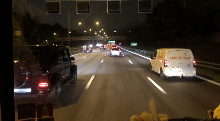 Traffic in Stockholm