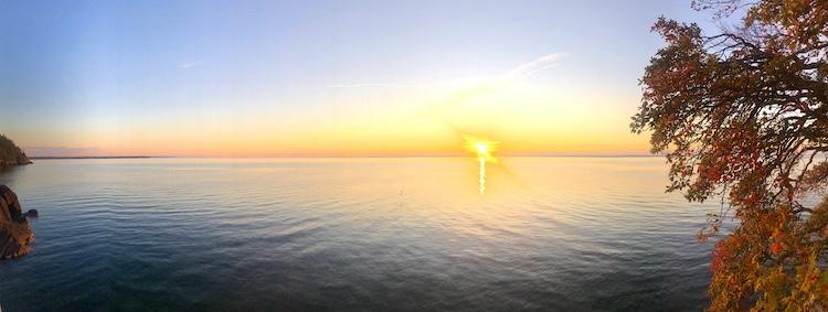 Sunset at Vättern