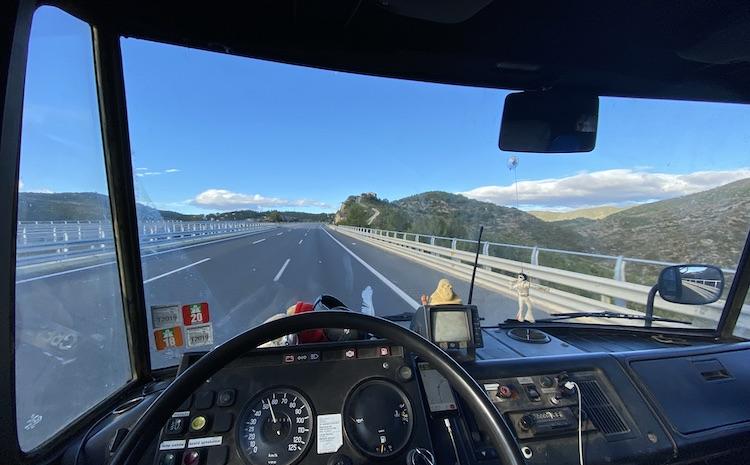 Crossing the Catalan Pre-Coastal Range