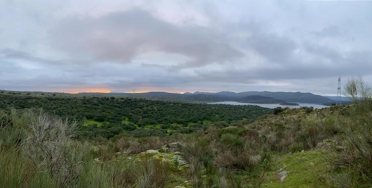 Area around Belvís de Monroy