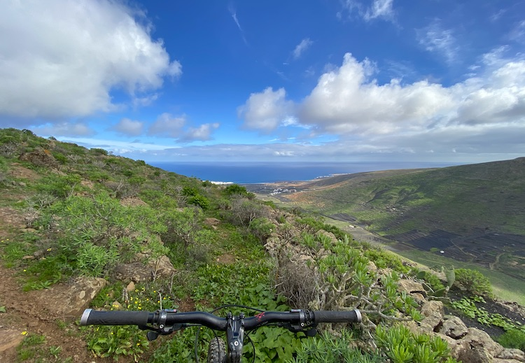 Exploring Lanzarote by bike