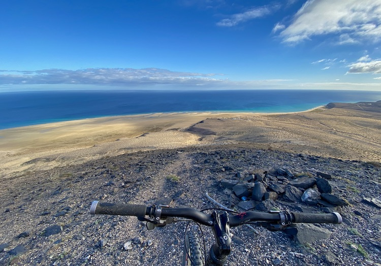 Mountain biking in the south of Fuerteventura
