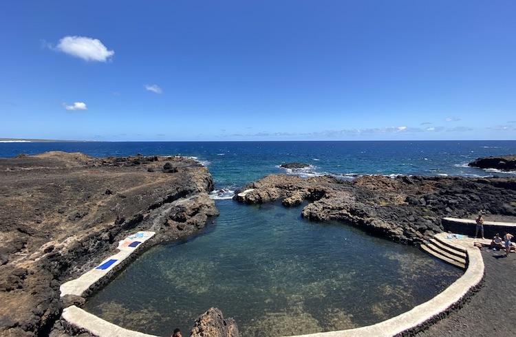 Natural pool near Mala