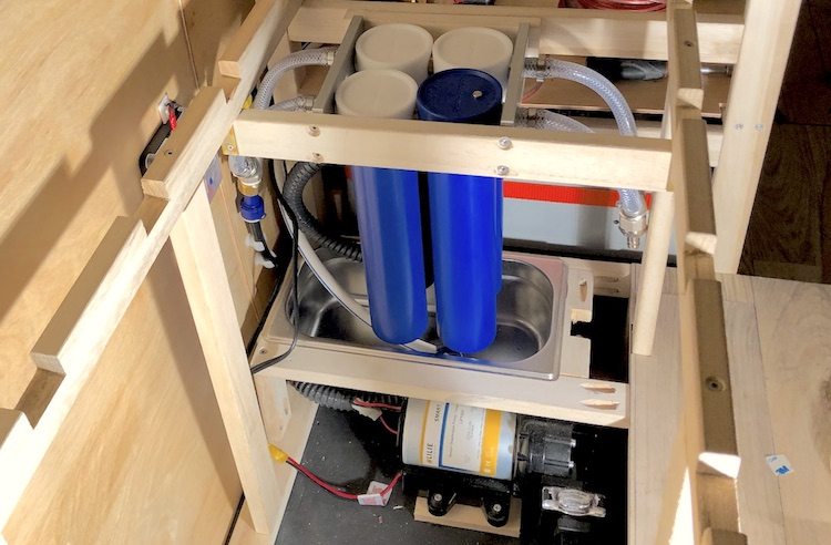 Installing the water system - Ruby on Wheels