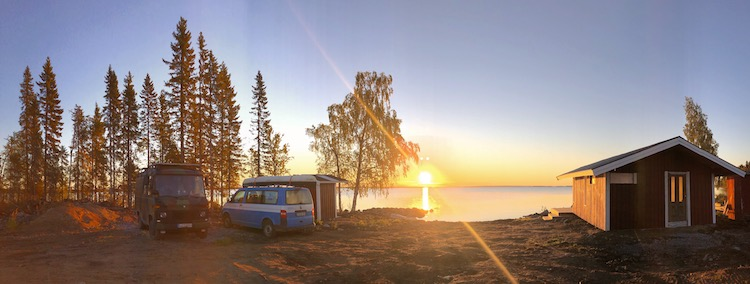 Sunrise at the Gulf of Bothnia